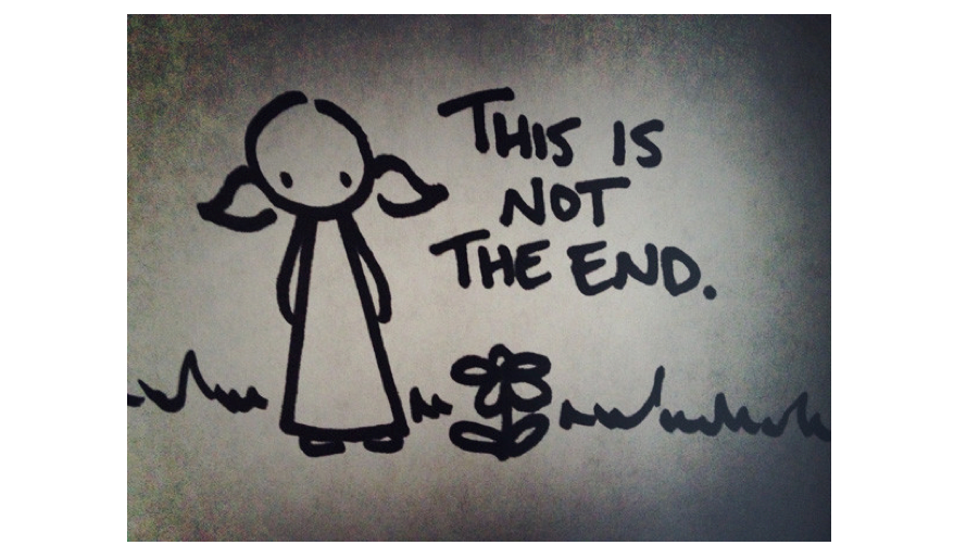 not the end..